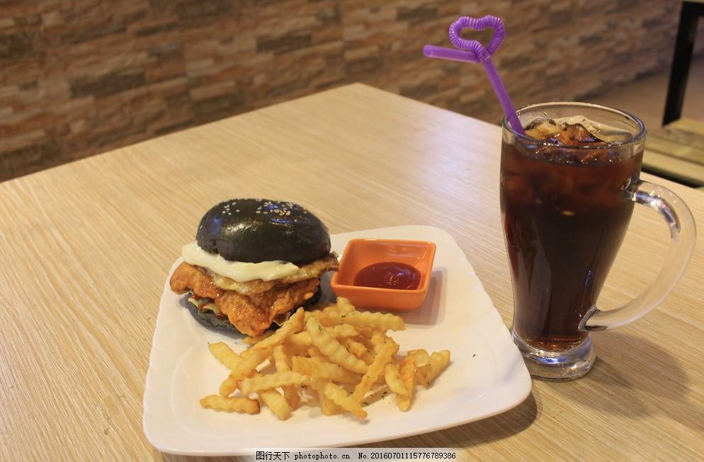 汉堡图片,巧克力松饼卡布奇诺咖啡厅菜谱菜夏季养生保健菜品图片