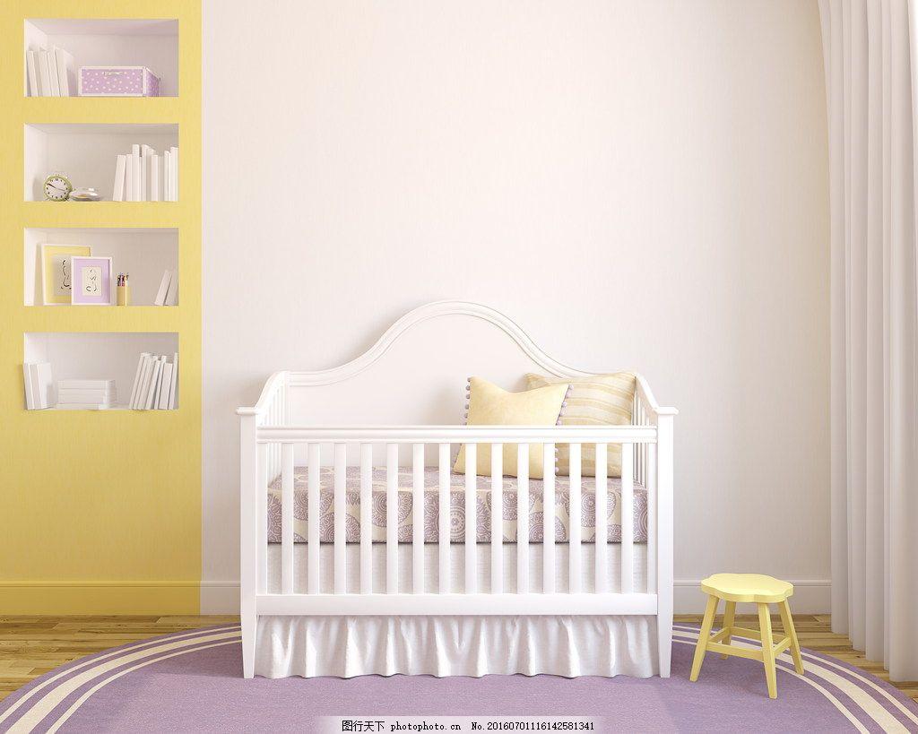 婴儿房装修效果图 婴儿房装修效果图高清图片素材下载 卧室 婴儿床