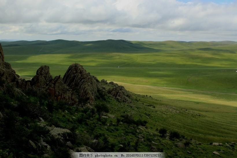 内蒙古乌里雅斯太山旅游景区风景