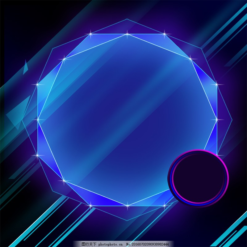 直通车背景 科技背景 几何体素材主图图片