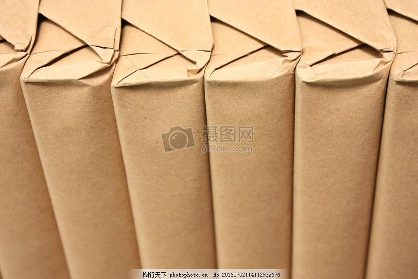 纸张的纹理 棕色 包 卡板 折叠 红色