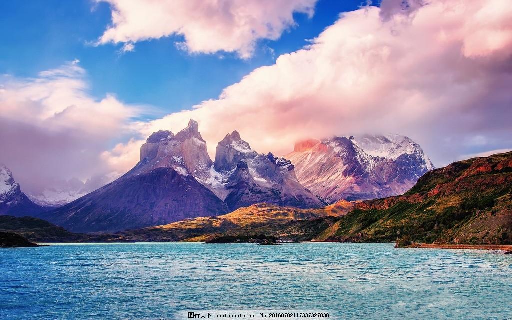 智力山脉自然风景图片