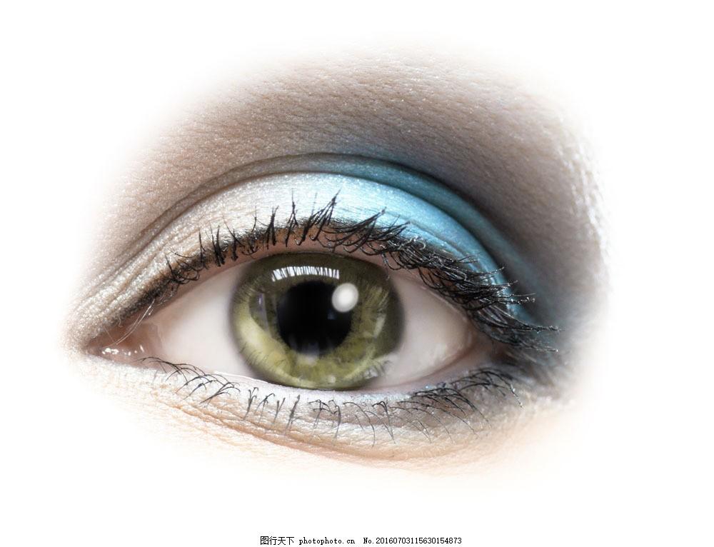 睁大的眼睛图片素材 近视眼 眉毛 眼睛 瞳孔 睫毛 美女眼睛 人体器官