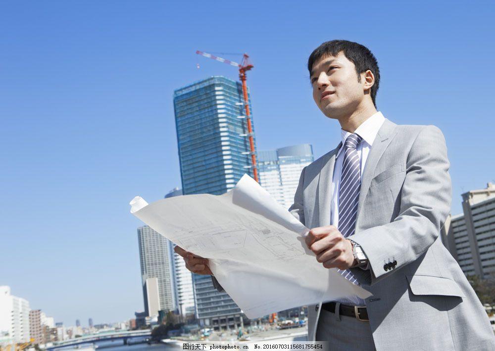 奋斗职员056 商业人物 商务人士 白领 职场 积极 挑战 职业装图片