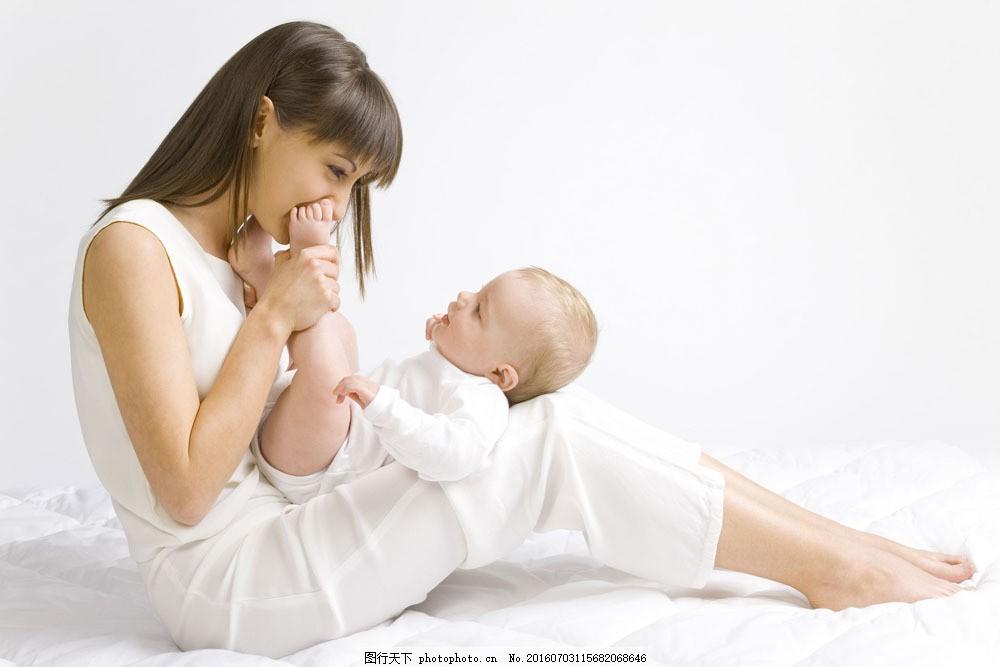 妈妈与宝贝图片素材 外国儿童 可爱 宝宝 小宝贝 婴儿 婴幼儿 妈妈 妈