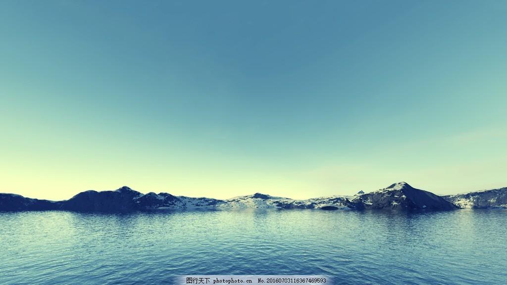 唯美山水风景桌面图片