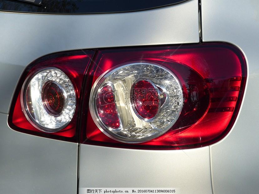 汽车倒车灯 高尔夫加 大众汽车公司 汽车 红色 反映 的pkw 银     jpg