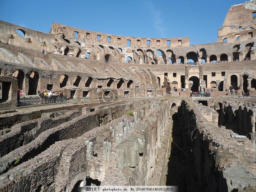 古代建筑旅游圣地 天空 蓝色 人群 红色