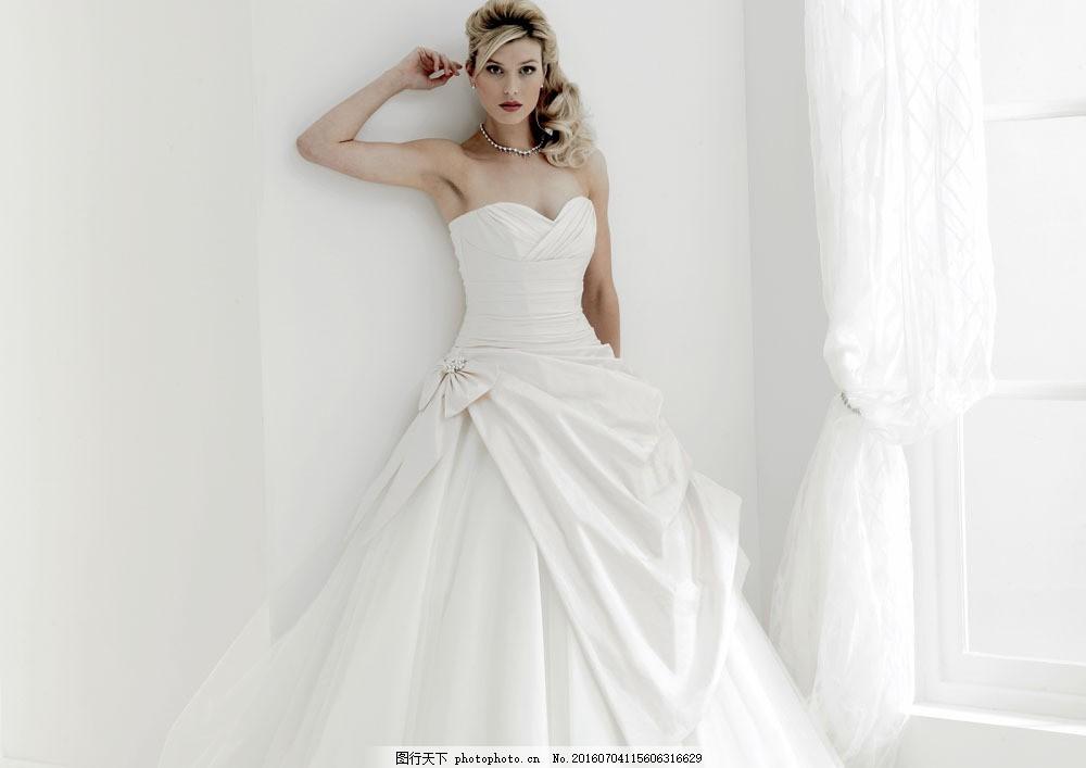 礼服气质美女 礼服气质美女图片素材 外国美女 美女写真 新娘 模特
