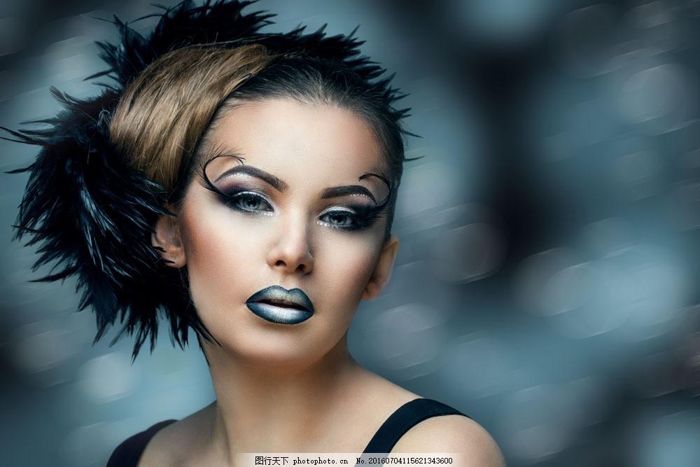 彩妆美女图片素材 裸体模特 美女 时尚女人 性感女人 美丽女人 漂亮