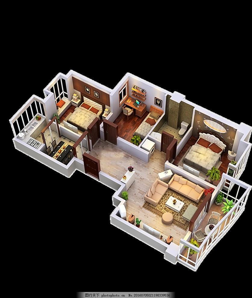 房屋透视图