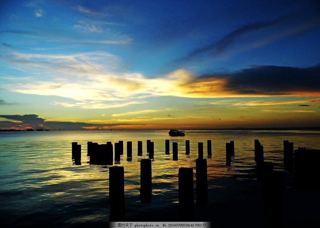 风景 彩云 祥云 暮色 晚霞 傍晚 落日 夕阳黄昏 大海 天空 摄影 自然