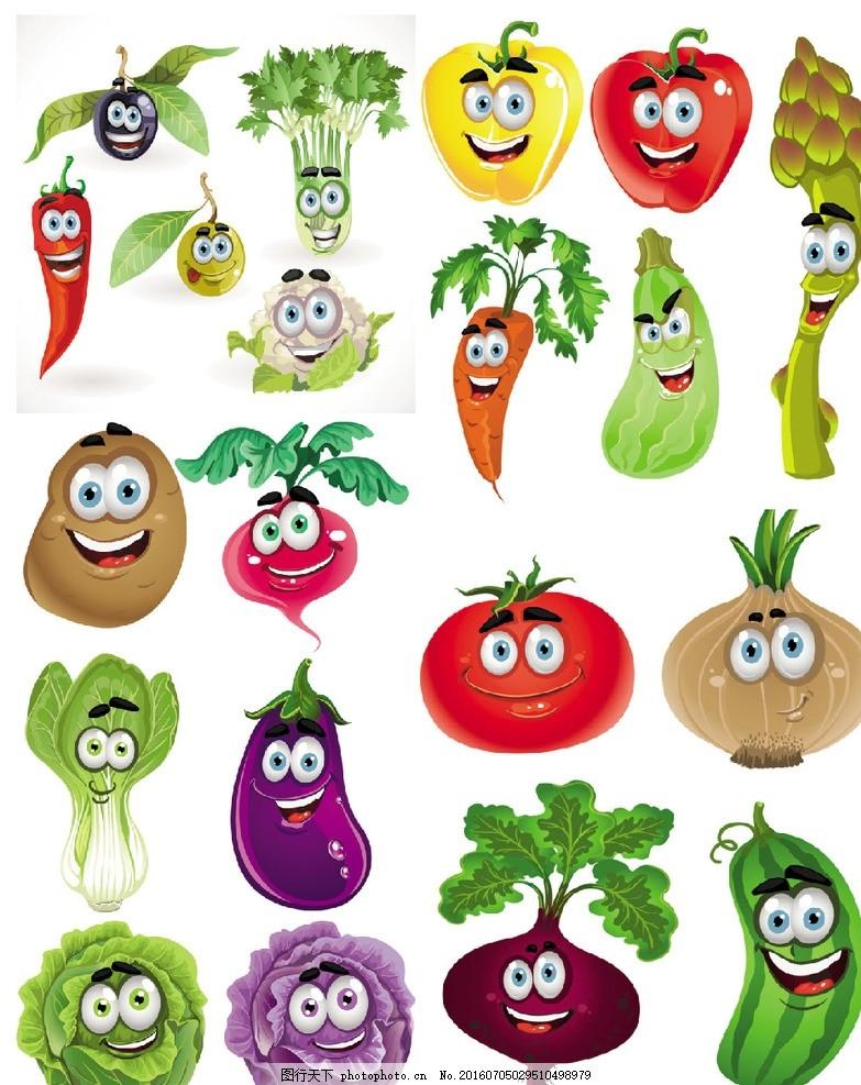 蔬菜表情微图片查看表情包群信大小卡通图片