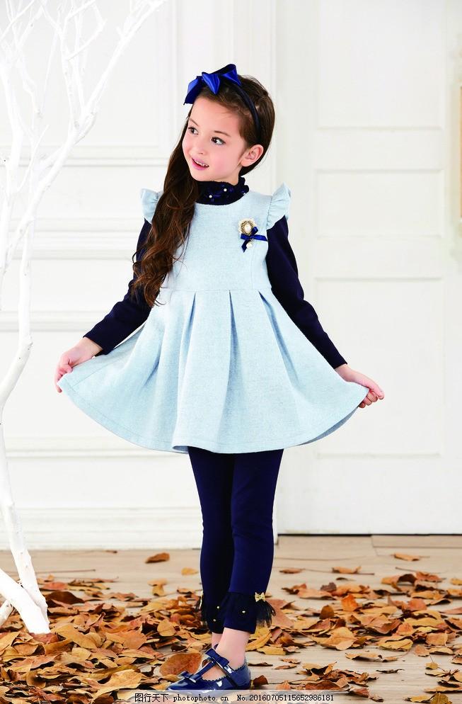 童装 儿童 服装模特 休闲装 居家服 可爱 摄影 人物图库 儿童幼儿