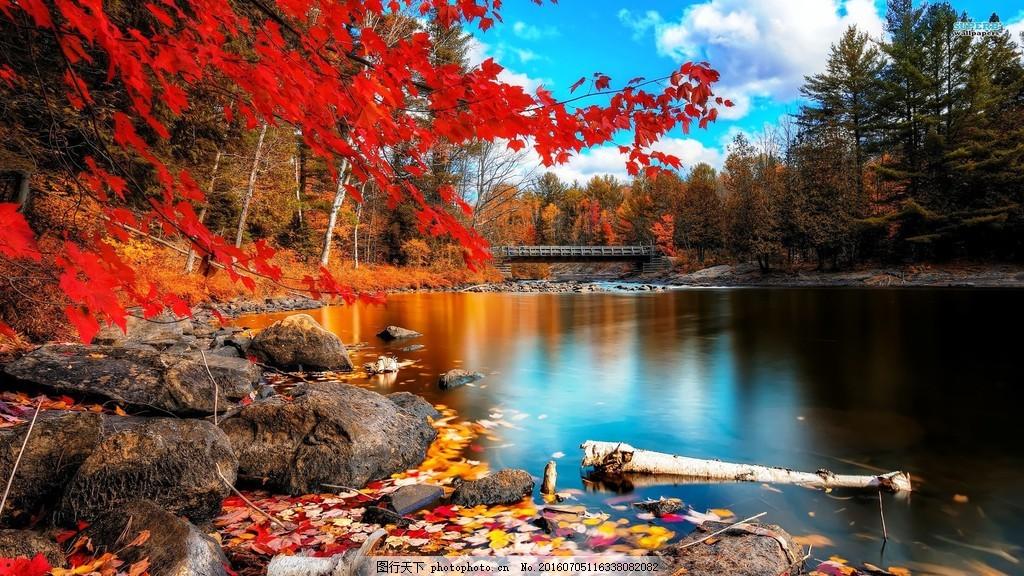 高清秋天风景图片