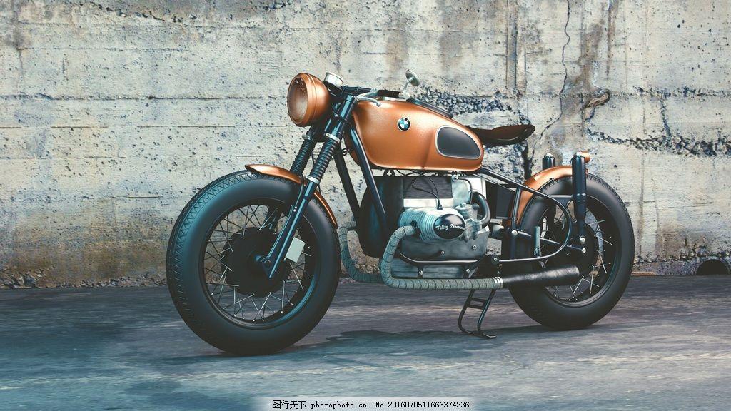 高清宝马摩托车图片下载 摩托车 宝马摩托 bmw摩托 重型机车 哈雷