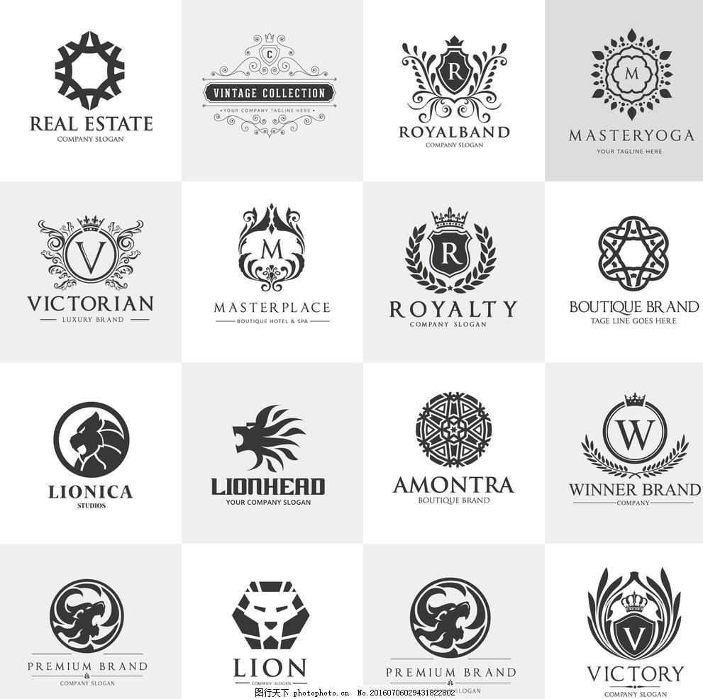 欧式风格logo