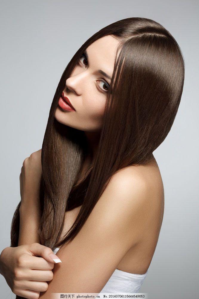美发模特 美发模特图片素材 头发 长发 秀发 造型 美女图片 人物图片