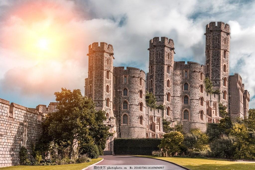 欧洲城堡建筑图片图片