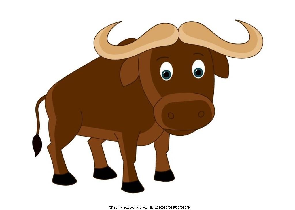 十二生肖 牛 卡通牛 小牛 可爱牛 牛牛 牛素材 牛矢量 小牛儿 动物