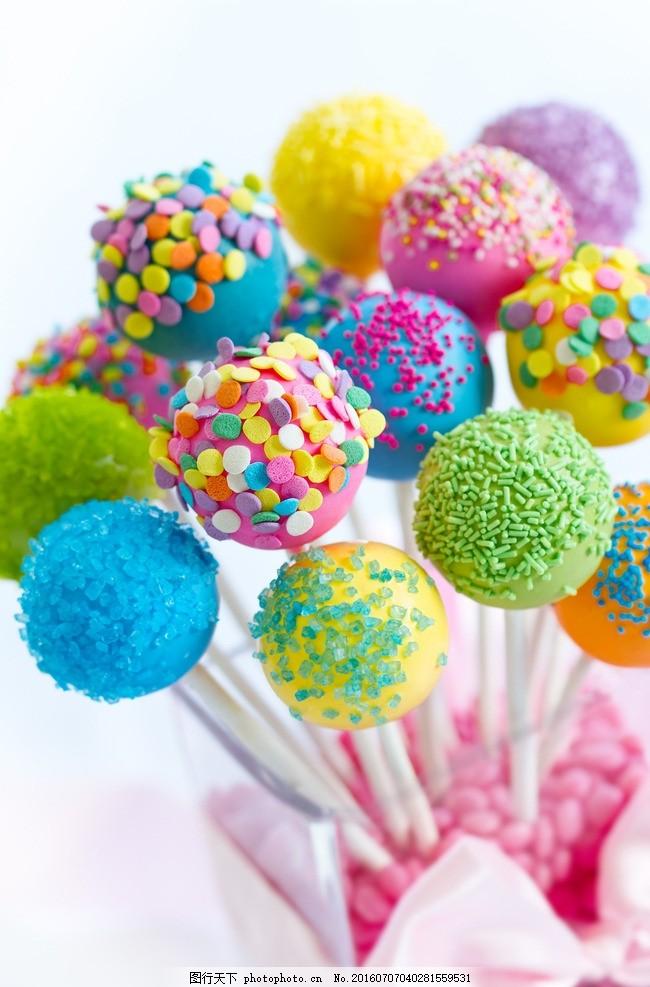 七彩糖果 七彩棒棒糖 真知棒 七彩真知棒 彩色糖果 美味糖果 诱人糖果