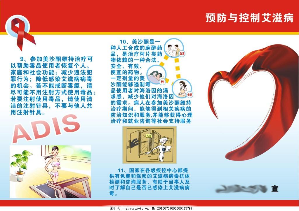 预防与控制艾滋病图片