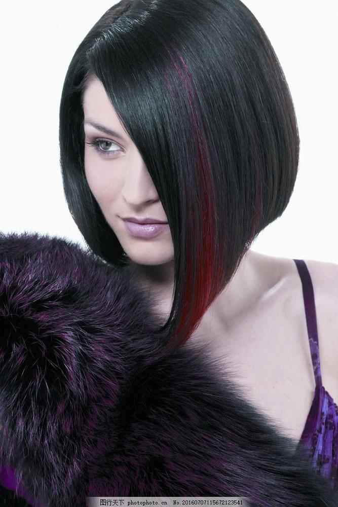 外国女性 女人 时尚美女 性感美女 美女写真 模特 美发造型 发型 造型图片