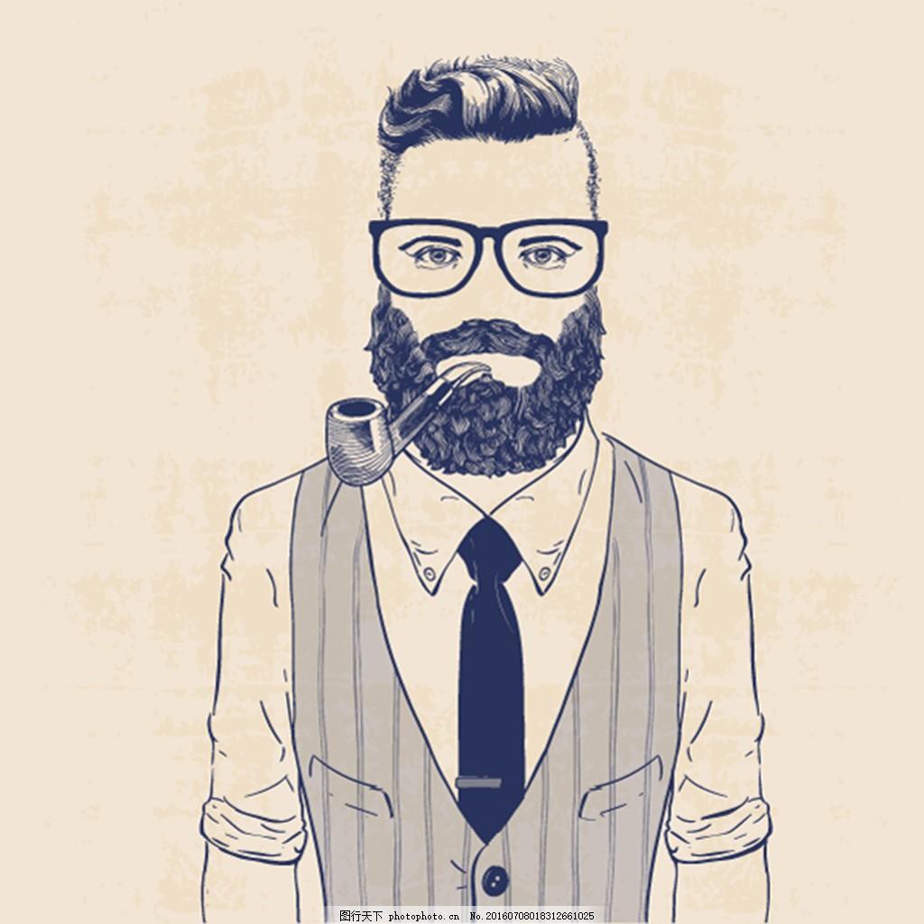 戴墨镜的男人图片
