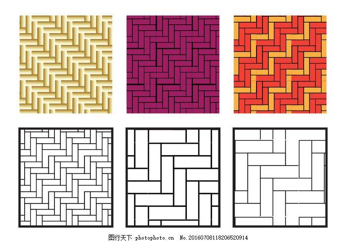 人字形图案的对角向量 背景 背景下 几何 简单 装饰 瓷砖 纹理图片
