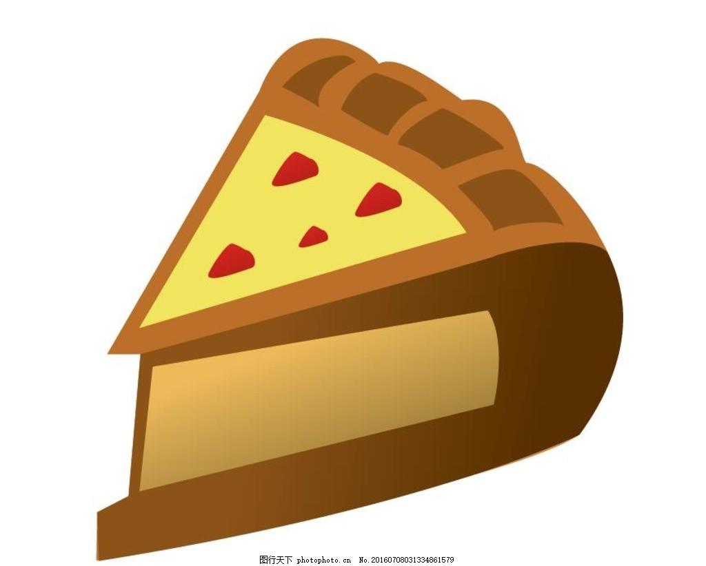 卡通甜点蛋糕 蛋糕 甜点 矢量素材 矢量 面包 矢量面包 爱心甜点 美食