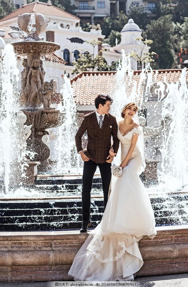 影楼婚纱样片图片