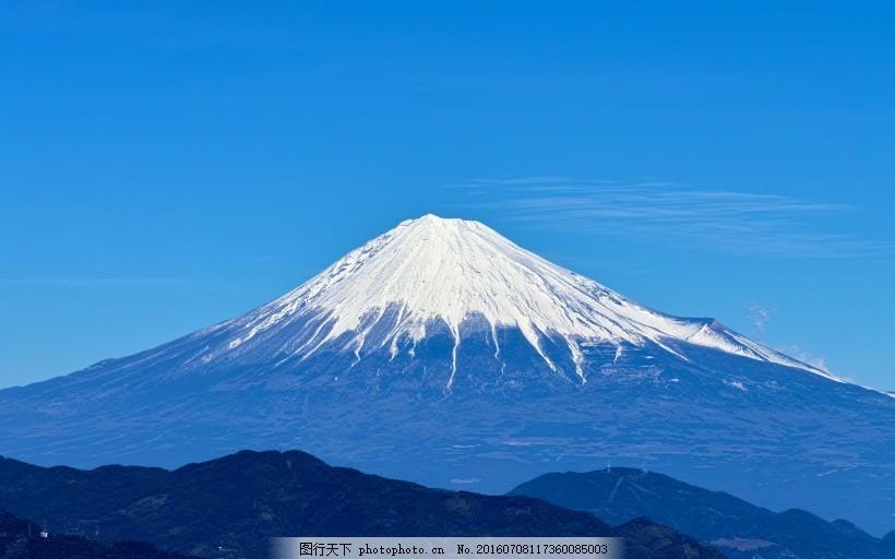 日本富士山风景