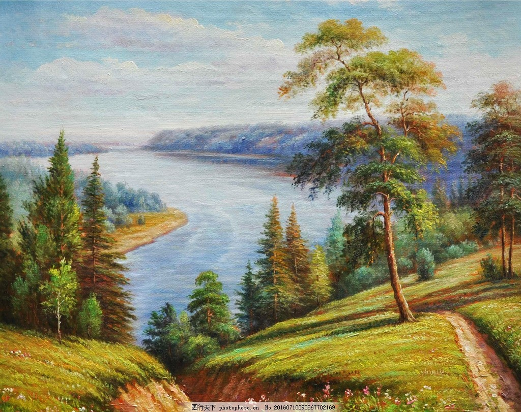 油画风景 油画 西方油画 写实油画 古典油画 风景油画 著名油画 名画