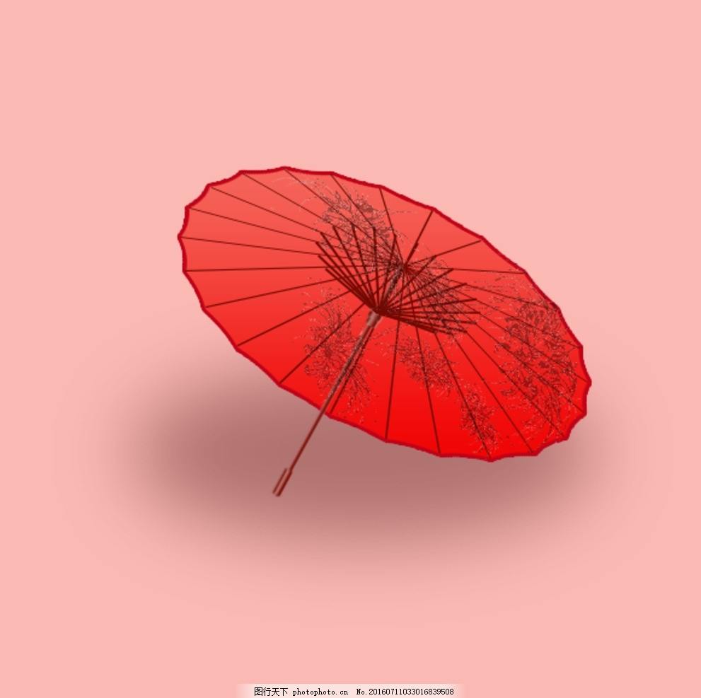伞 遗忘 立体 彼岸花 古风 源文件
