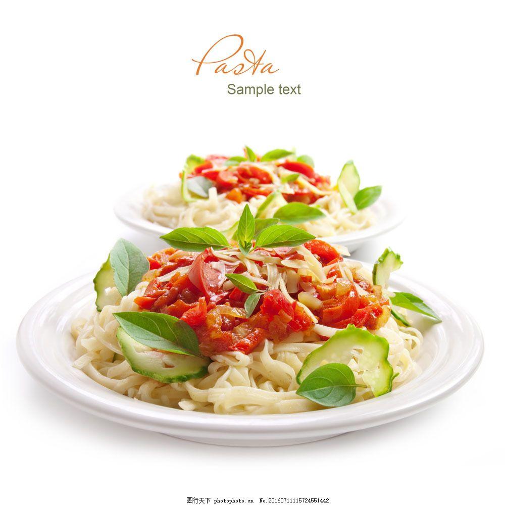 番茄拌面 番茄拌面图片素材 面食 面条 国外美食 美味 食物 食材原料
