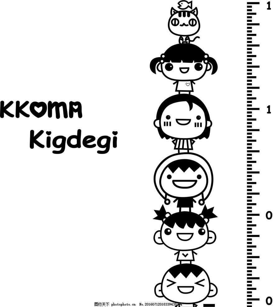 古典 展板 图纸 绘画 墙纸 底纹 身高尺 猴子 设计 动漫动画 动漫人物