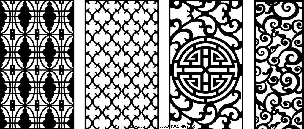 欧式底纹 欧式边框 镂空花纹 镂空图案 雕花 窗花 窗格 通花 木雕