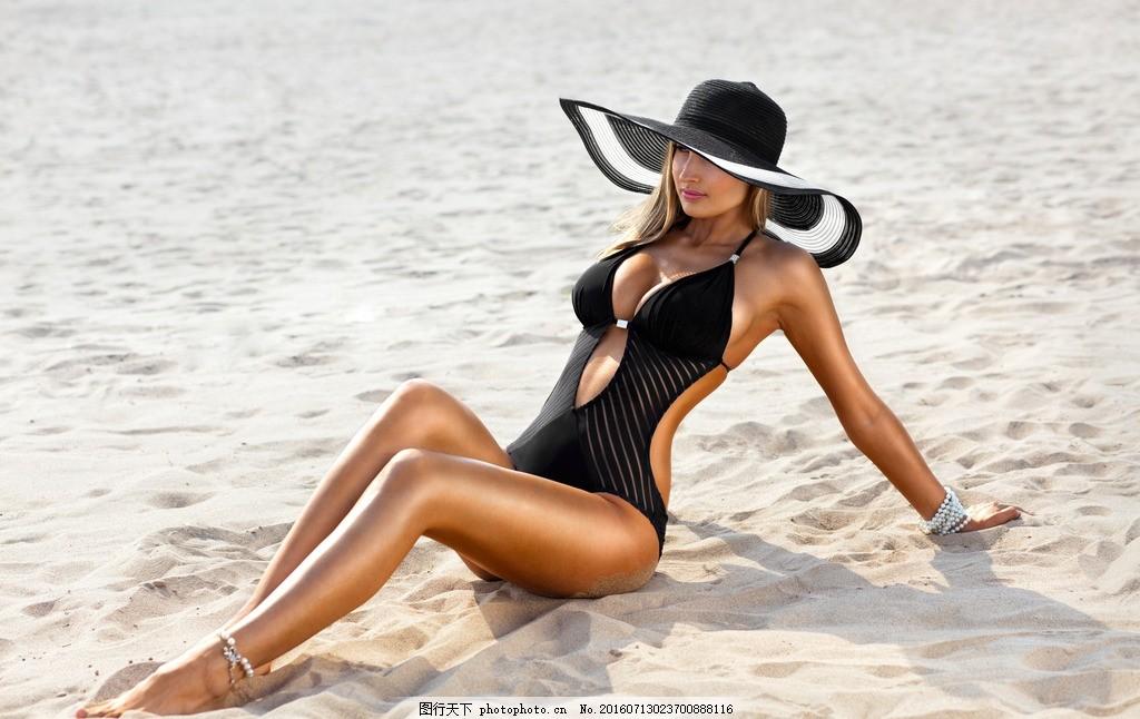 泳装美女 女模 模特 女郎 靓女 女模特 性感 时尚 气质 身材