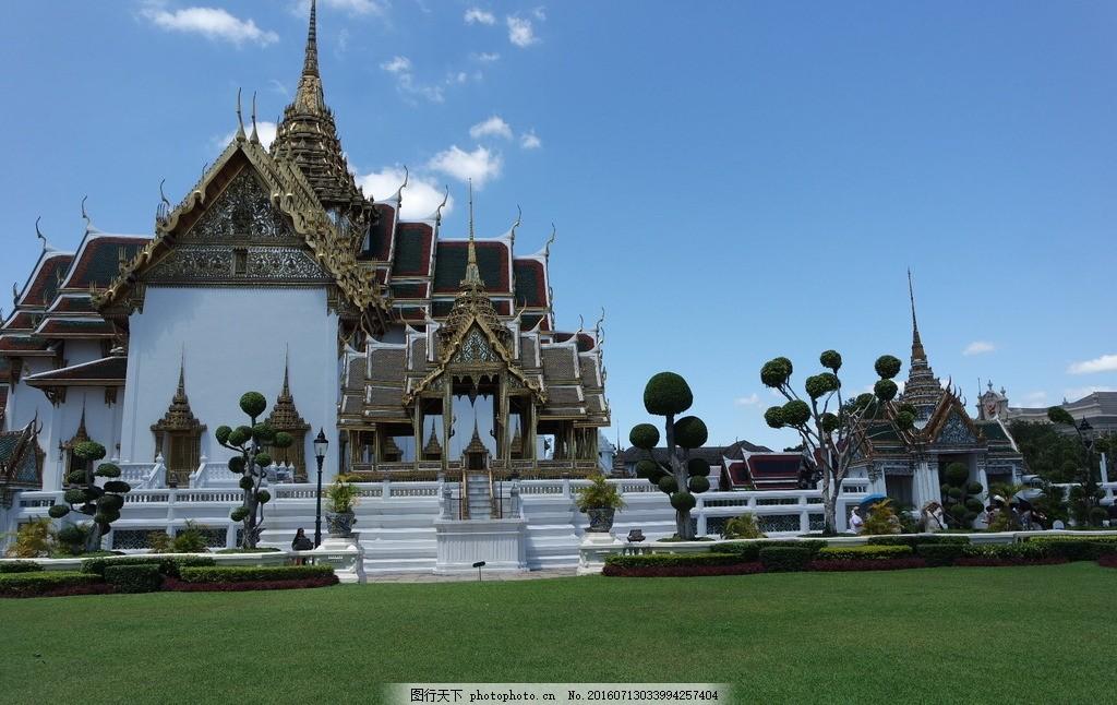 泰国 曼谷 风景 景点 大皇宫 摄影 旅游摄影 国外旅游 72dpi jpg