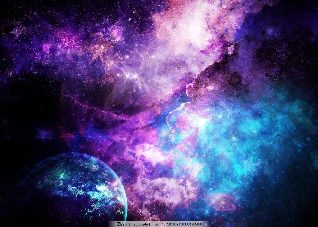 星洞 创意星空 火星 土星 时尚星空 创意 星空背景海报 时尚海报 素材