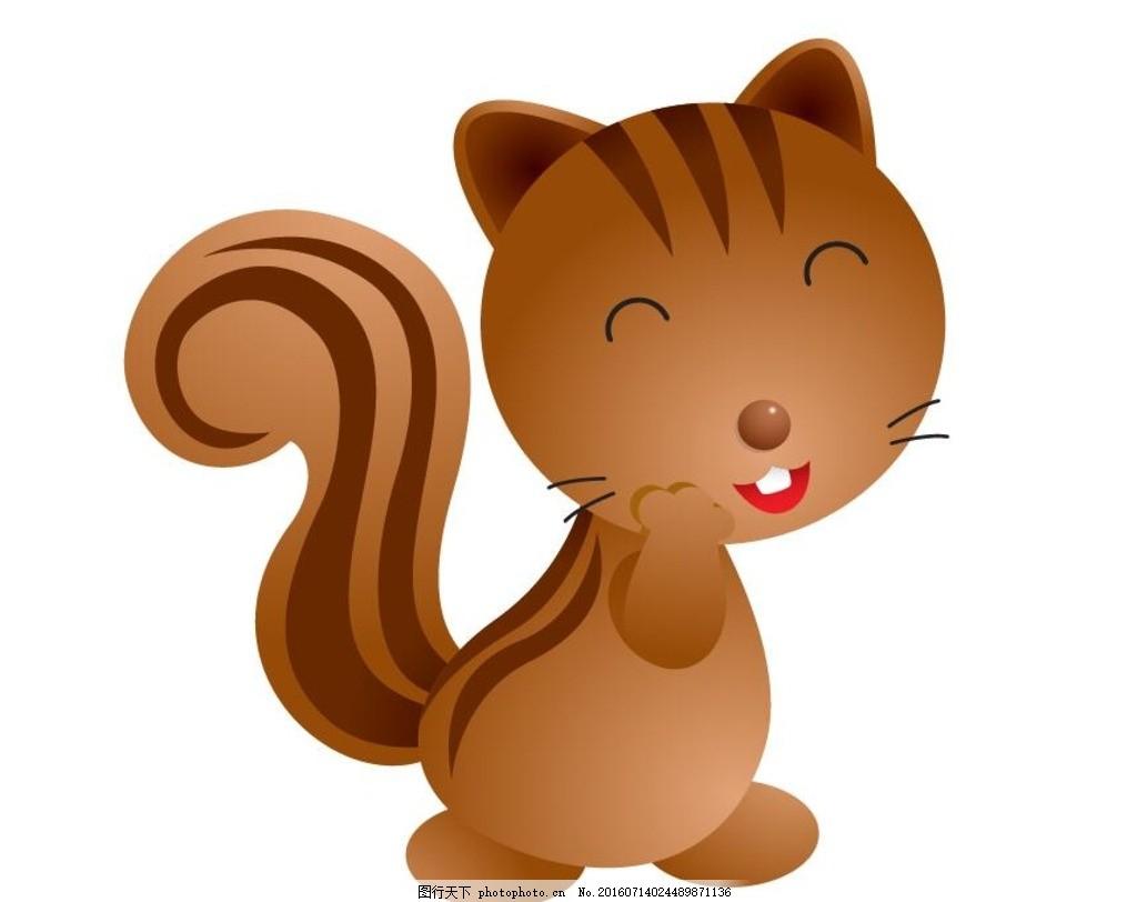 卡通 动漫 手绘 可爱 小松鼠头像      动画 动画明星 可爱动物 小