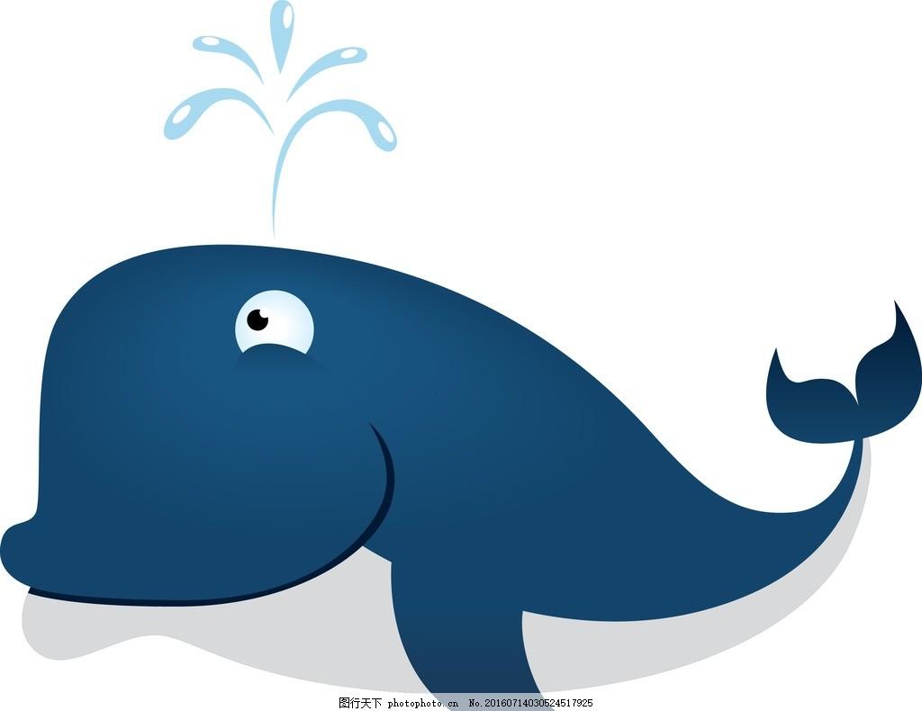卡通海豚 卡通素材 矢量素材 手绘 可爱卡通 海底世界 海洋馆 矢量鱼