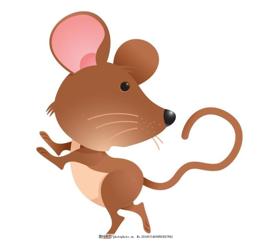 卡通老鼠 老鼠卡通 卡通鼠 可爱老鼠 卡通系列 十二生肖 动物矢量