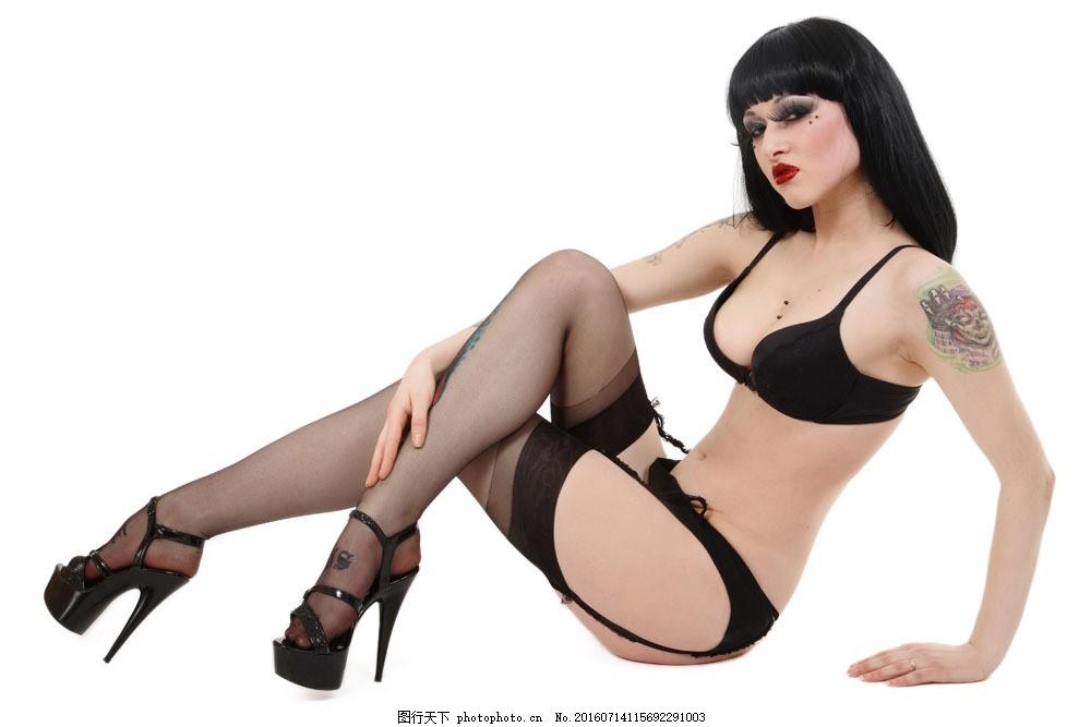 穿高跟鞋的丝袜美女 穿高跟鞋的丝袜美女图片素材 刺青 纹身美女