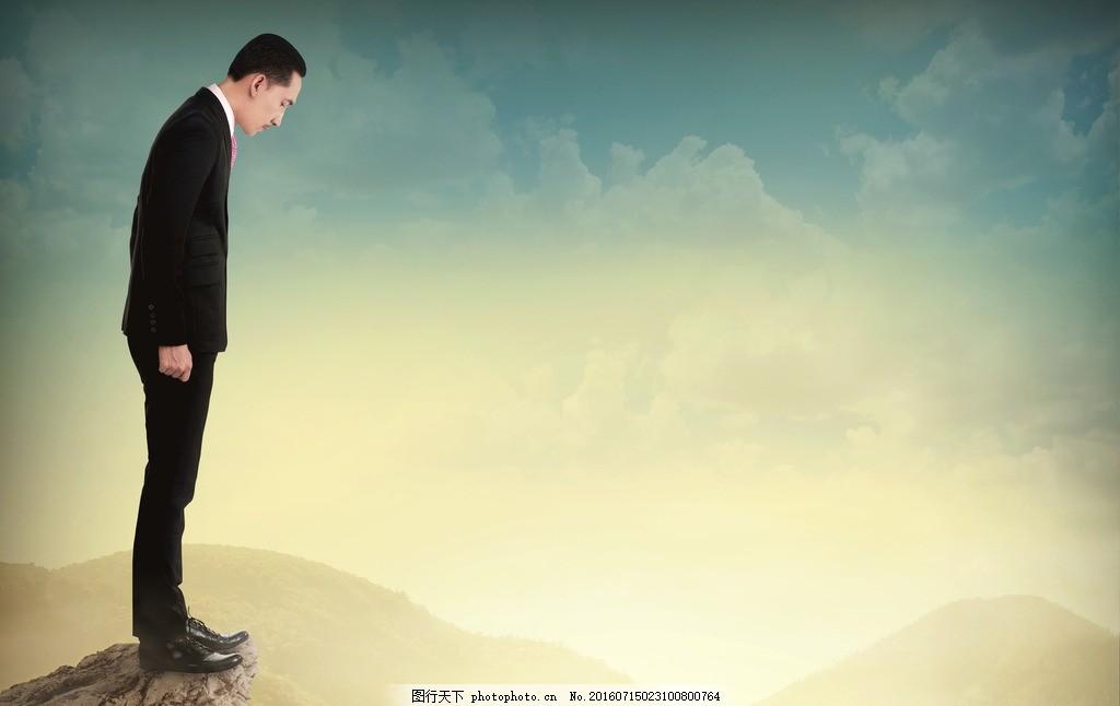 痛苦 压力 商务人士 创意广告 黑白照片 生活人物 摄影 人物图库 日常