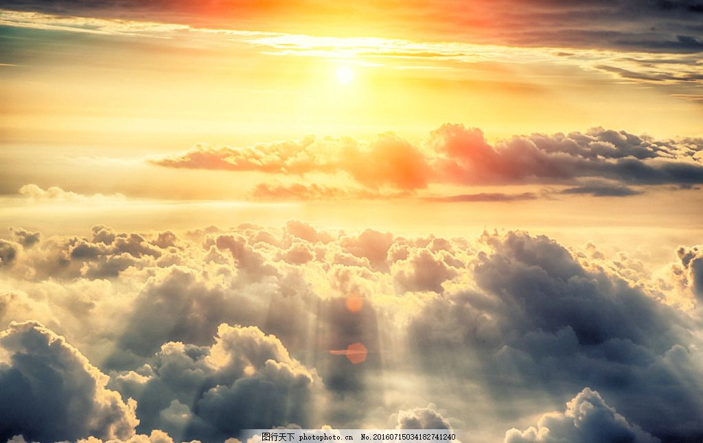 唯美 炫酷 自然 云 云层 云朵 夕阳 落日 日落 黄昏 傍晚 摄影 自然