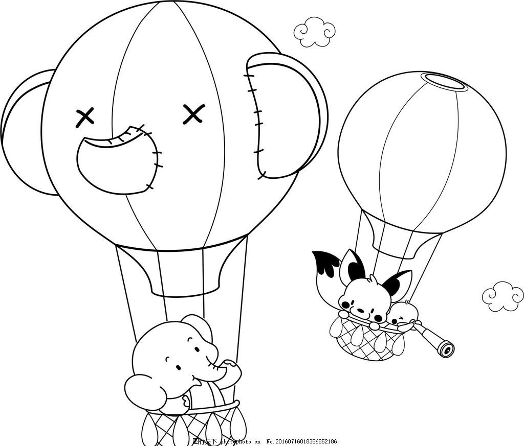 古典 展板 底纹 背景 绘画 小象 设计 动漫动画 动漫人物 cdr