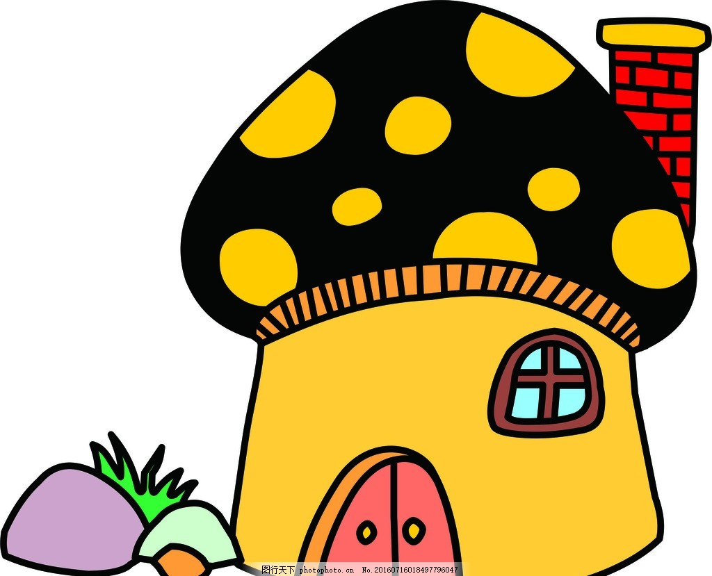 古典 展板 底纹 背景 绘画 蘑菇房 设计 动漫动画 风景漫画 cdr