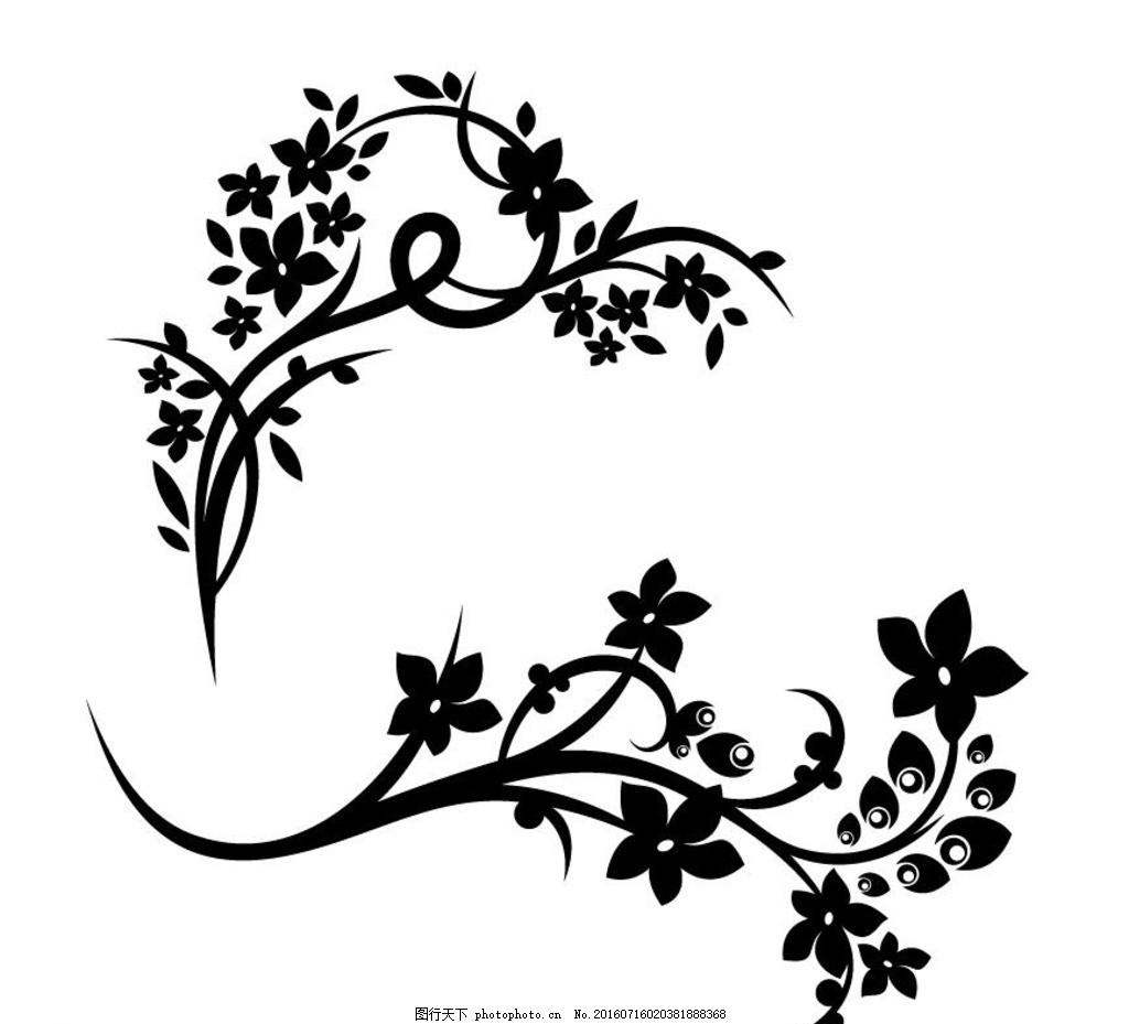 服装刺绣花纹素材 欧式花纹 古典花纹花边 卡片花纹 婚纱礼服花纹
