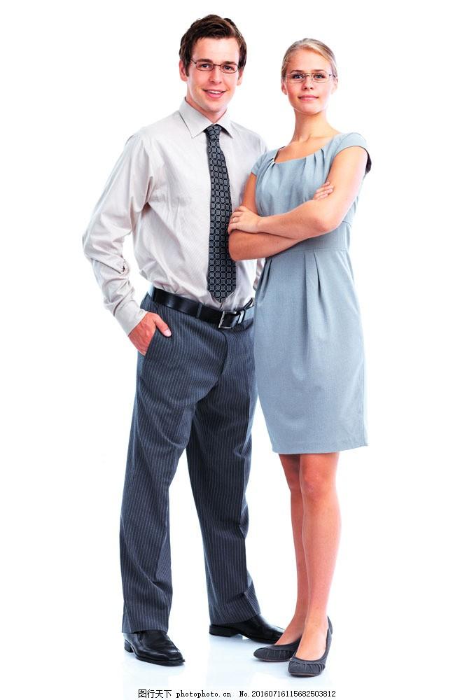 外国情侣摄影图片素材 情侣 外国情侣 白领 职员 办公人员 人物摄影